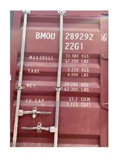 Container Loadings