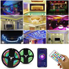 Indoor Smart Wifi 5/10/15m 12v Rgb Led Strip Light Set Smd5050 Ip65 Waterproof Customerized Led Light with Tuya App